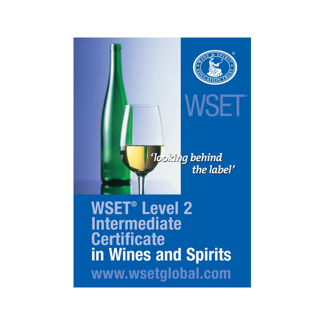 WSET Level 2 Intermediate Award in Wines and Spirits