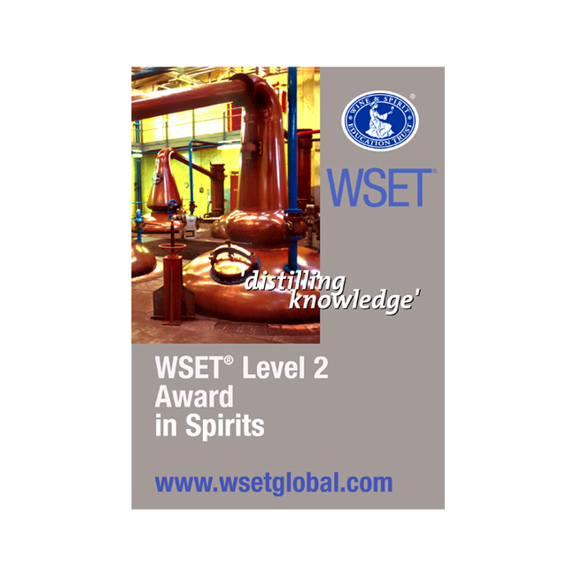 WSET Level 2 Professional Award in Spirits